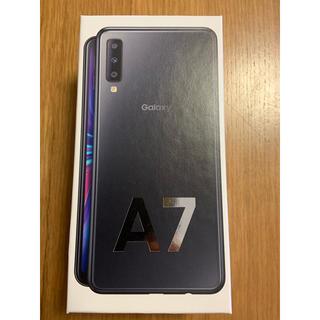 Galaxy - Galaxy A7 ブラック 64 GB SIMフリー【おまけつき】