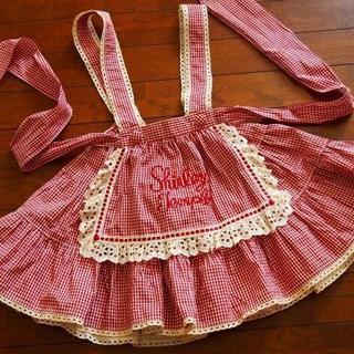 Shirley Temple - シャーリーテンプル エプロン付スカート 120