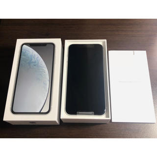 iPhone - iPhone XR 64GB white SIMフリー 即日発送 新品