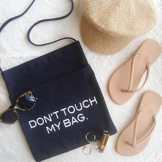 アナップ(ANAP)のロゴトートバッグ don't touch my bag(トートバッグ)