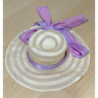 ビームスボーイ(BEAMS BOY)の【中古・タグ付き】maturely / Sisol Bonnet Hat(麦わら帽子/ストローハット)