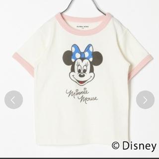 グローバルワーク(GLOBAL WORK)のGLOBAL WORK Disney ミニー Tシャツ 140(Tシャツ/カットソー)