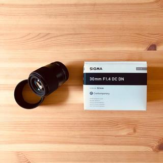 SIGMA - 【極美品】付属品完備 SIGMA シグマ 30mm F1.4 DC DN