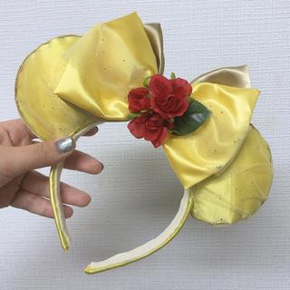 ビジョトヤジュウ(美女と野獣)のディズニーカチューシャ ハンドメイド ベル風(カチューシャ)