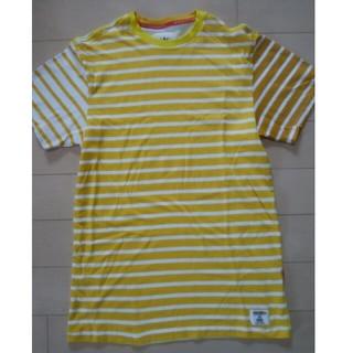 ベドウィン(BEDWIN)のADIDAS ORIGINALS×BEDWIN クレイジーボーダー柄Tシャツ(Tシャツ/カットソー(半袖/袖なし))