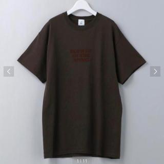 BEAUTY&YOUTH UNITED ARROWS - ROKU 6 ロゴTシャツ ブラウン Mサイズ