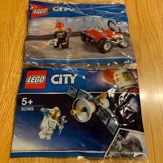 Lego - レゴ レゴブロック レゴシティ ローソン 消防 スペース