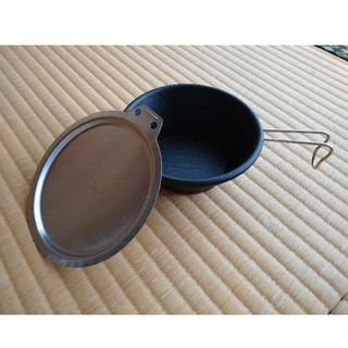 シンフジパートナー(新富士バーナー)の2枚セット  SOTO シェラカップリッド(シェラカップ蓋)(食器)