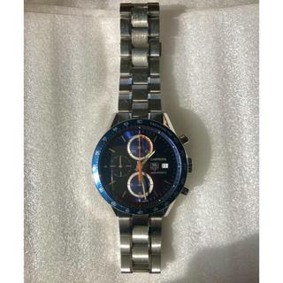 タグホイヤー(TAG Heuer)のタグホイヤー カレラ タキメーター クロノグラフ CV2015 青(腕時計(アナログ))