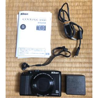 ニコン(Nikon)のNicon coolpix A900(ジャンク品)(コンパクトデジタルカメラ)