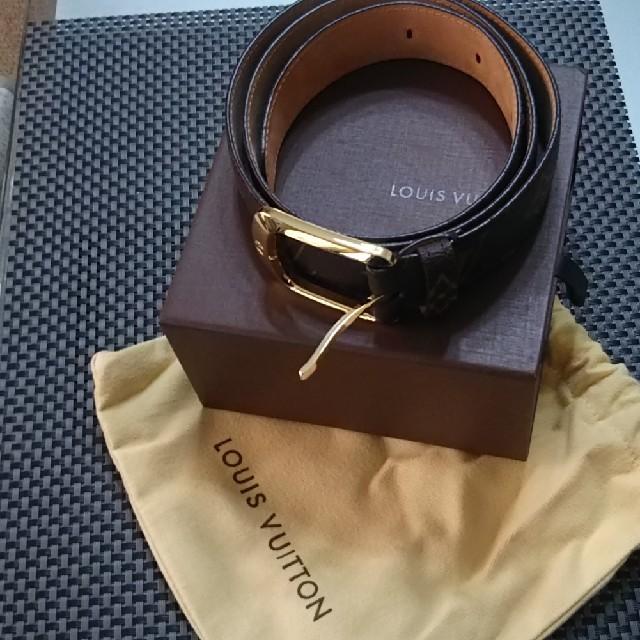 LOUIS VUITTON(ルイヴィトン)の🔷【正規品】ルイヴィトン モノグラム ベルト(新品未使用品) メンズのファッション小物(ベルト)の商品写真