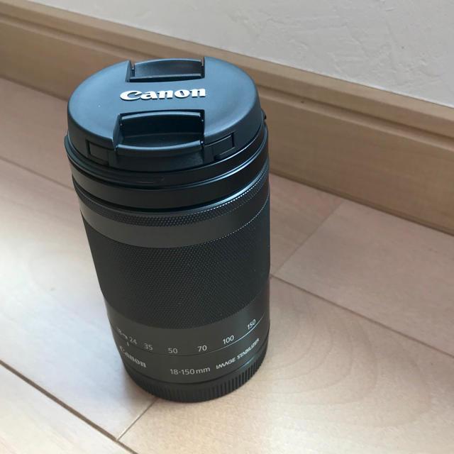 Canon(キヤノン)のCanon EF-M 18-150mm IS STM 高倍率ズームレンズ スマホ/家電/カメラのカメラ(レンズ(ズーム))の商品写真