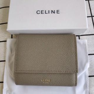 celine - 美品セリーヌCeline 三つ折り財布 小銭入れ