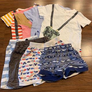Tシャツ 短パン 80-90cm