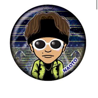 サンダイメジェイソウルブラザーズ(三代目 J Soul Brothers)のNAOTO レア 缶バッジ クリアチャーム(その他)