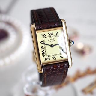 Cartier - 超美品✨カルティエ マストタンク SM 全純正✨ロレックス  オメガ エルメス