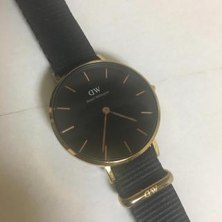 Daniel Wellington - 美品  ダニエルウェリントン 腕時計 レディース 黒 32mm