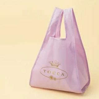 TOCCA - 新品 TOCCA エコバッグ 美人百科 9月号 付録