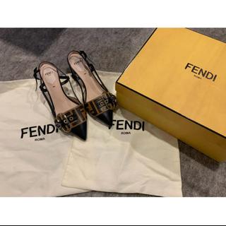 フェンディ(FENDI)のfriendi ヒール(ハイヒール/パンプス)