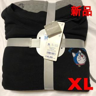 新品【XL】(黒)GU ドラえもん ラウンジセット 2020 (その他)