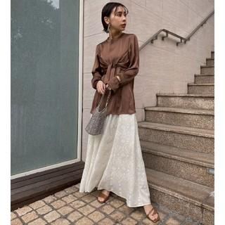 Ameri VINTAGE - 新品タグ付き アメリヴィンテージ ランプ柄スカート
