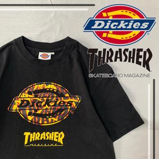 Dickies - 【美品】Dickies × THRASHER コラボ tシャツ