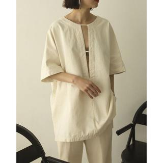 TODAYFUL - 大人気完売品 TODAYFUL Cotton Pique Blouse