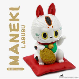 日本限定 LABUBU 招き猫【限定品】(置物)