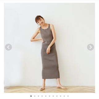 SeaRoomlynn - searoomlynn RIBニットSlimスカート