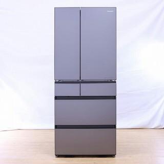 Panasonic - Panasonic NR-F655WPX-H 冷蔵庫 ミスティスチールグレー