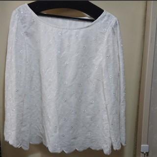 クチュールブローチ(Couture Brooch)の新品 クチュールブローチ 刺繍ブラウス(シャツ/ブラウス(長袖/七分))