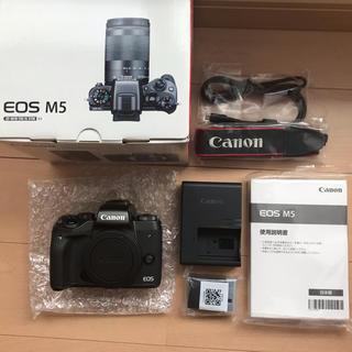 Canon - Canon ミラーレス一眼 EOS M5 ボディー(本体)と付属品一式