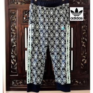 adidas - アディダス ジャージ 美品 パンツ レース柄 ドイリー 花柄 SM