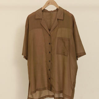 TODAYFUL - TODAYFUL Silk Boyfriend Shirts (新品)