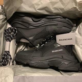 Balenciaga - BALENCIAGA バレンシアガ TripleS トリプルS 41 ブラック