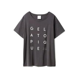 gelato pique - ジェラートピケ デオドラントレーヨンロゴTシャツ PWCT202808