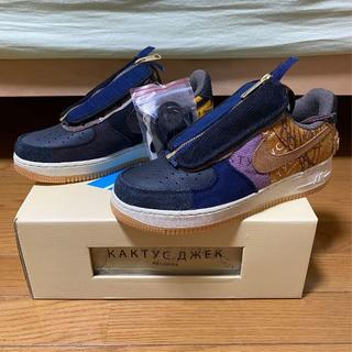 26.5CM TRAVIS SCOTT NIKE AIR FORCE 1 LOW(スニーカー)