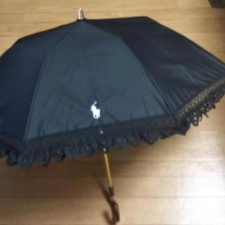 Ralph Lauren - 希少 2020 ラルフローレン 折り畳み 日傘 ブラック