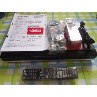 SHARP - HDD1TB新品 ドラ丸搭載 AQUOS ブルーレイレコーダー BD-W1800