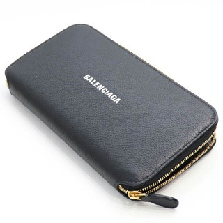 Balenciaga - 新品 バレンシアガ キャッシュ 長財布 ラウンドファスナー ウォレット ブラック