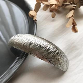 イエナ(IENA)の【BT-1A】metal barrette(バレッタ/ヘアクリップ)