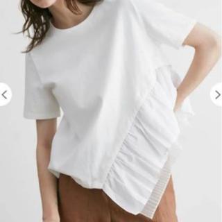 エンフォルド(ENFOLD)のELENDEEK ヘムプリーツカットソー(Tシャツ(半袖/袖なし))