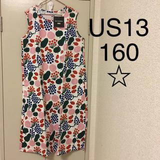 marimekko - マリメッコ UNIQLO 2020ss キッズ ワンピース US13