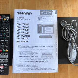 SHARP - SHARP 2018年ブルーレイレコーダー BD-NS520