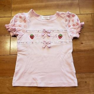 Shirley Temple - シャーリーテンプル イチゴTシャツ 110