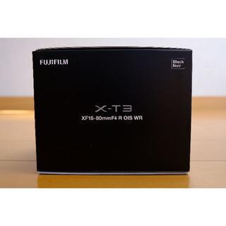 フジフイルム(富士フイルム)の新品未使用 富士フィルム X-T3 ボディ ブラック(ミラーレス一眼)