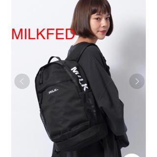 MILKFED. - 新品 MILKFED ミルクフェド SIDE LOGO BACKPACK
