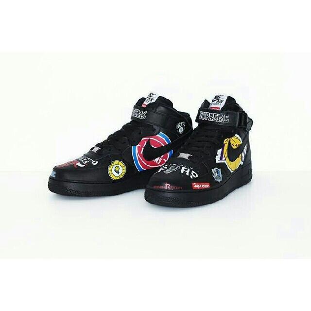 Supreme(シュプリーム)の超美品 supreme Nike NBA エアフォース1 ノースフェイス メンズの靴/シューズ(スニーカー)の商品写真