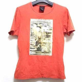 ジャンポールゴルチエ(Jean-Paul GAULTIER)のゴルチエ 半袖Tシャツ サイズ40 M オレンジ(Tシャツ(半袖/袖なし))