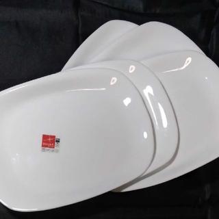 コレール・ホワイトオシャレプレート長角5枚(食器)